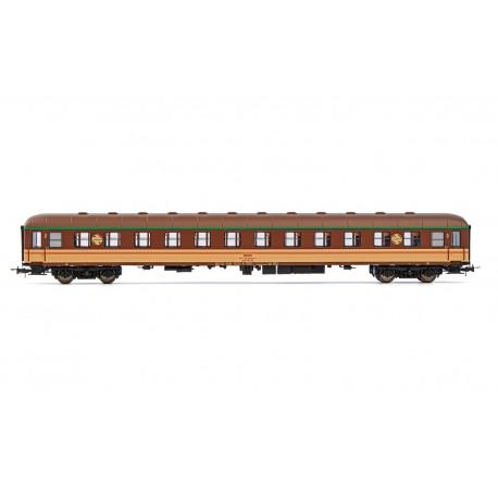 2nd class coach, BB 8532. RENFE.