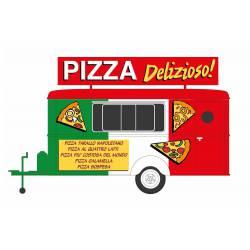 """""""Pizza"""" trailer."""