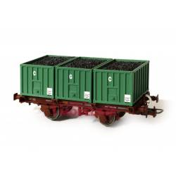 Container wagon CGC, RENFE.