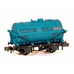 """Tank wagon """"Gasolina Vilella"""" nº3, NORTE."""