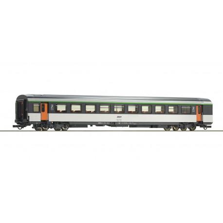 2nd class corail open-plan coach, SNCF.
