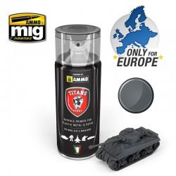 Spray de imprimación Panzergrau.