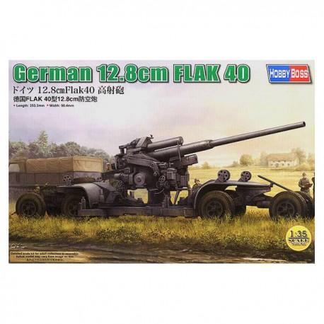 German 12.8 cm FLAK 40.