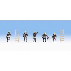 Brigada de bomberos.