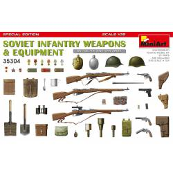Soviet infantry weapons and equipment.