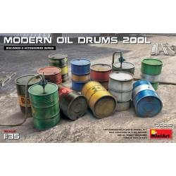 US fuel drums.
