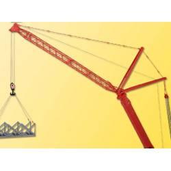 Telescopic crane.