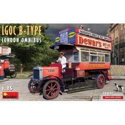 Autobus londinense Omnibus LGOC B.