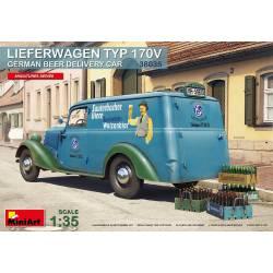 German beer delivery car.