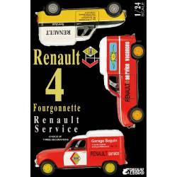 "Furgoneta Renault 4 ""Renault Service""."