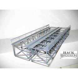 Puente de acero de dos vías. HACK BRUCKEN K32-2