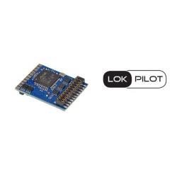 LokPilot V5.0 decoder, 21-pin plug. DCC