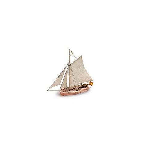 Bote del S. Juan Nepomuceno. ARTESANIA 18010