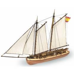 Príncipe de Asturias. Lancha del comandante. ARTESANIA 22150