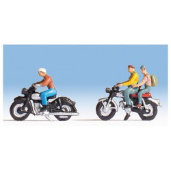Motorcyclist. NOCH 15904