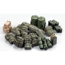Military equipment set. TAMIYA 35266