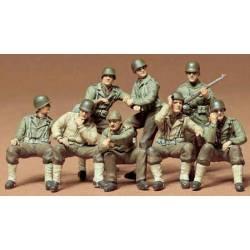 US combat group set.
