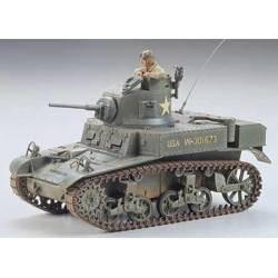 Stuart U.S. light tank M3.