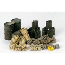 Allied vehicles accessory set. TAMIYA 35229