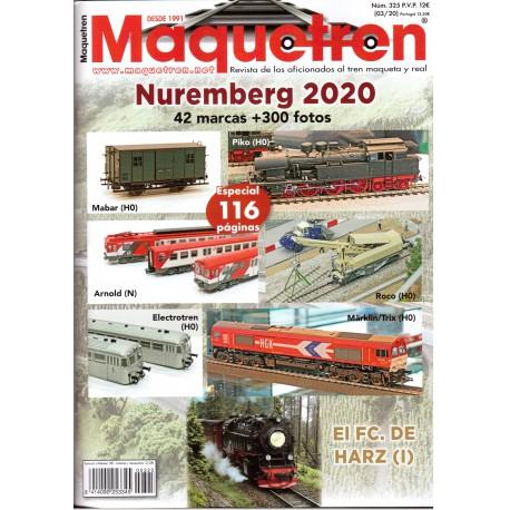 Revista Maquetren, nº 325.