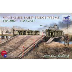 Allied Bailey bridge Type M2. WWII.