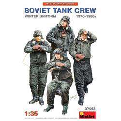 Soviet tank crew 70-80s. Winter uniform.