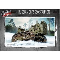 Tractor soviético ChTZ S60 Stalinetz.