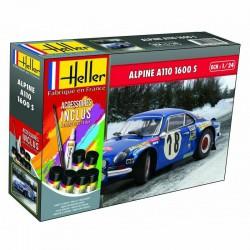 Alpine A110 1600 S, con pinturas.