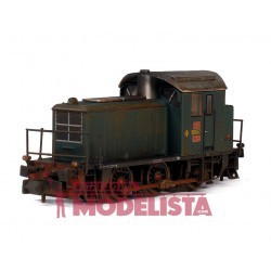 Locomotora diésel 10301, RENFE. Envejecida.