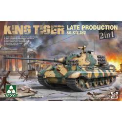 German Heavy Tank Sd.Kfz.182 Late Production.