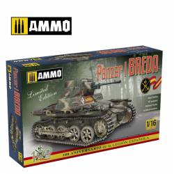 Panzer I Ausf. A Breda, Spanish Civil War light tank.