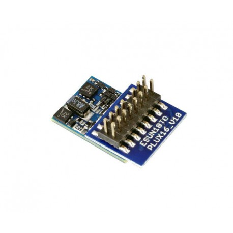 Decoder LokPilot micro V5.0 Plux16. Multiprotocolo.