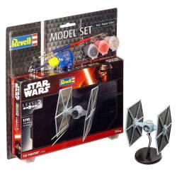 Star Wars: Caza X-Wing con pinturas.