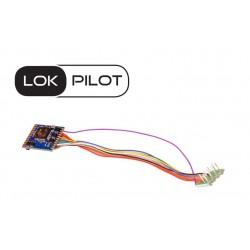 LokPilot V5.0 decoder, 8-pin plug. DCC