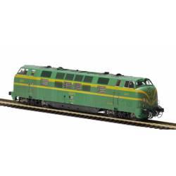 Diesel locomotive 4023, RENFE. Weathered.