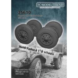 Wheel set for Panhard 178.