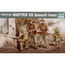 Waffen SS Assault team.