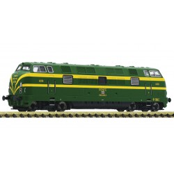 Locomotora diésel 340, RENFE. Sonido.