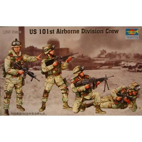 US 101 st Airborne division crew. TRUMPETER 00410