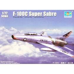 F-100C Super Sabre. TRUMPETER 01648