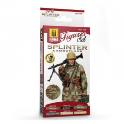 Splinter camouflage set.
