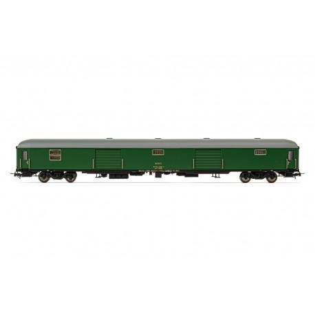 Luggage van D11-11400, RENFE.