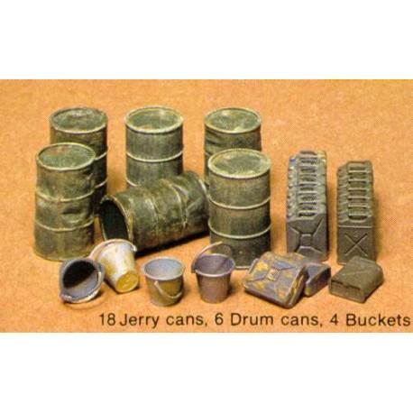 Jerry can set. TAMIYA 35026