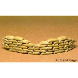 Sand bags set. TAMIYA 35025