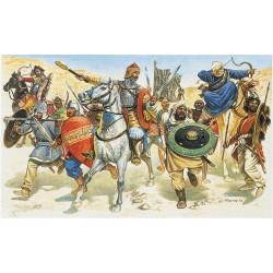 Saracens warriors.