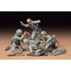 German infantry mortar team set.