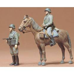 Infantería montada de la Wehrmacht. TAMIYA 35053