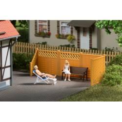 Mobiliario de jardín.