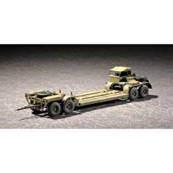 German tank transporter. TRUMPETER 07249