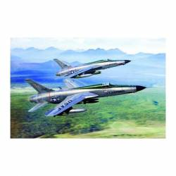 F-105D Thunderchief. TRUMPETER 01617